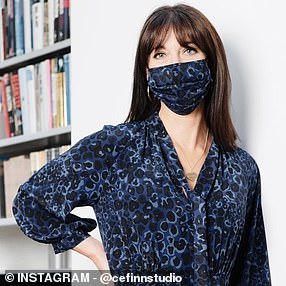 Samantha Cameron has created a face mask for a care worker charity