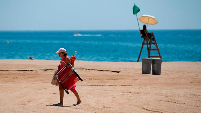 The move is aimed at giving EU tourism a boost, particularly in countries like Spain (pictured)