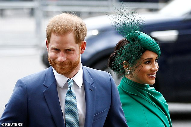Matters came to a head with an old male friend of the prince who 'spent an afternoon gossiping about Meghan'. The writers say: 'Word got back to Harry and the prince immediately cut him off'