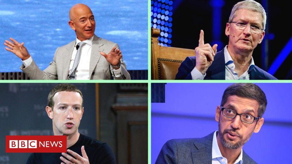 Tech giants Facebook, Google, Apple and Amazon to face Congress