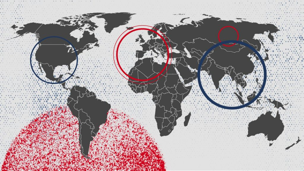 COVID-19 has spread around the world since originating in China