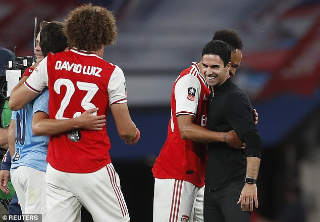 But the Brazilian has since bounced back, putting a smile on the face of manager Mikel Arteta