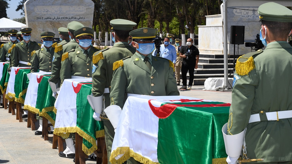 Algeria buries remains of anti-colonial fighters after 150 years | News
