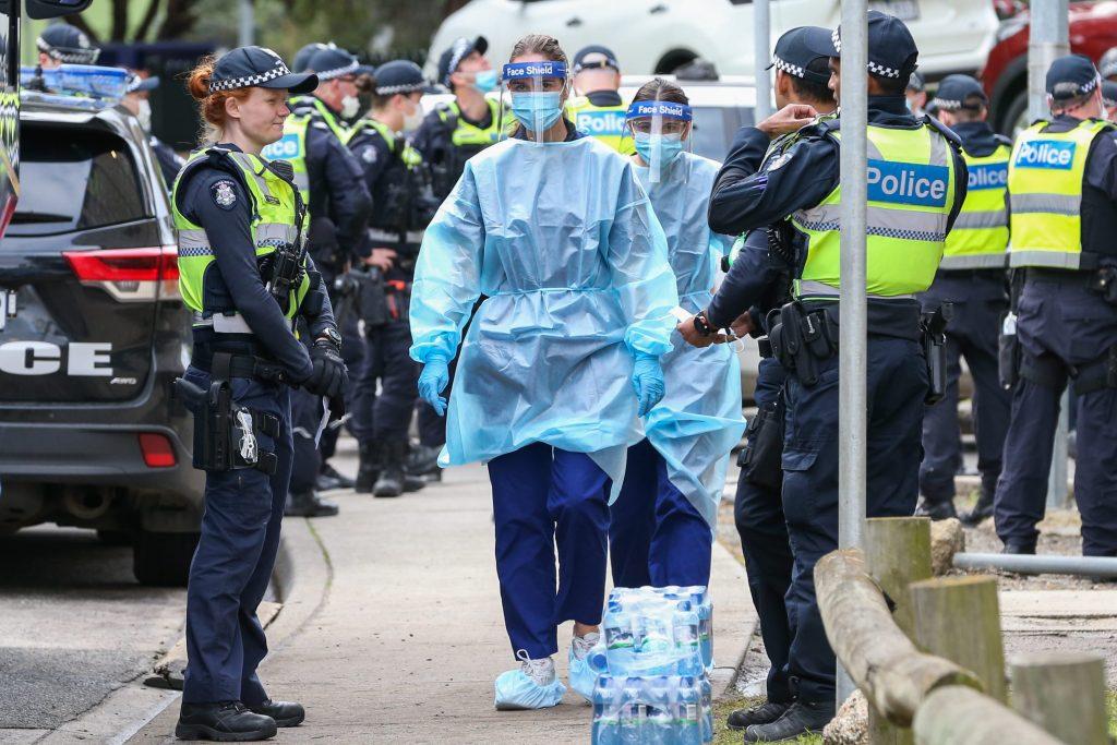 Australia's Victoria state reports jump in new coronavirus cases