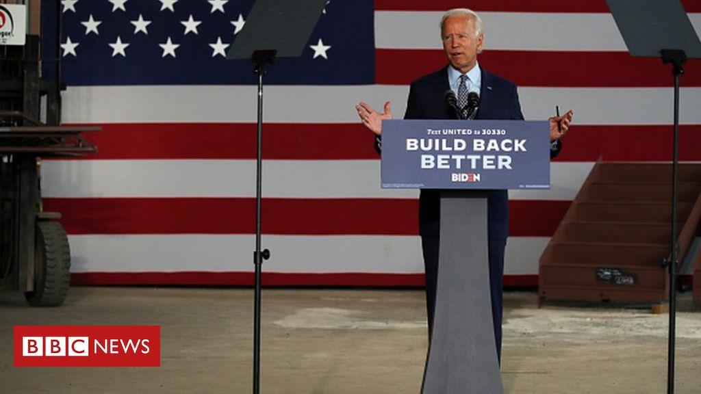 Biden challenges Trump with 'Buy American' economic plan
