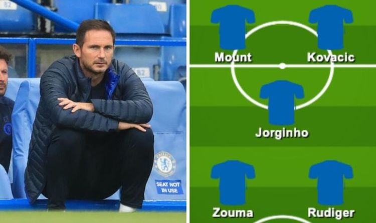 Chelsea team news: Predicted 4-3-3 line up vs Man Utd – Kante out while Lampard rests trio | Football | Sport