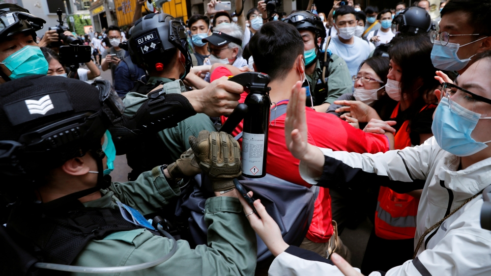 China rebukes Canada over criticism of Hong Kong security law   China News