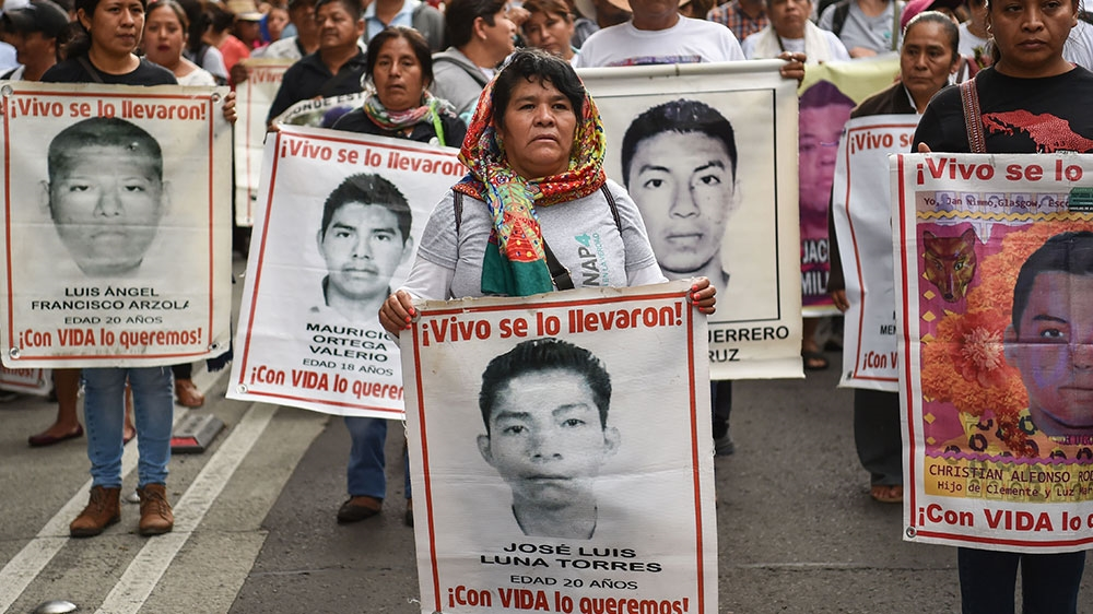 Remains of massacred student teacher identified in Mexico   Indigenous rights News