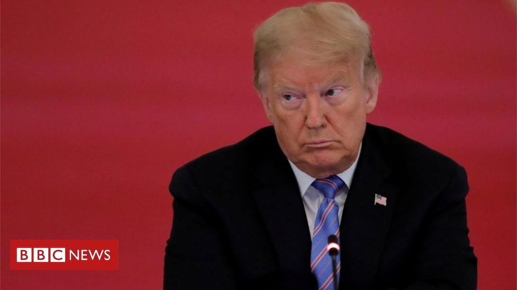 Coronavirus: 'I'm all for masks,' says Trump in change of tone