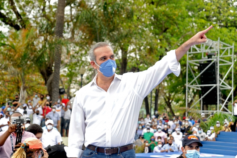 Dominican opposition presidential candidate for the Modern Revolutionary Party (PRM) Luis Abinader