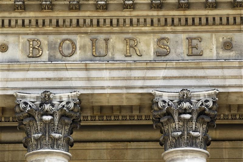 © Reuters.  France stocks lower at close of trade; CAC 40 down 0.18%