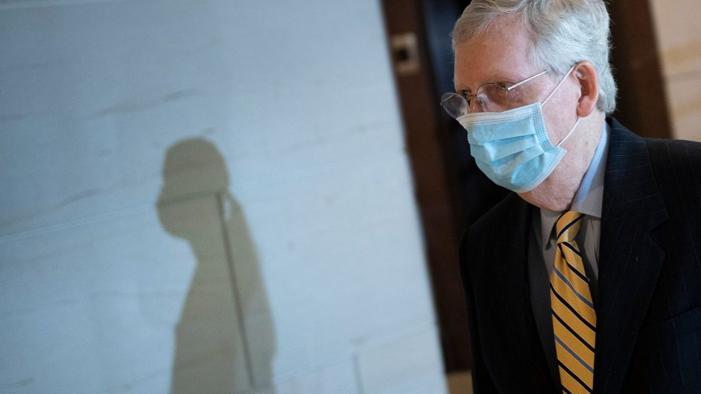 GOP Senators Could Pay Political Price For Opposing Coronavirus Relief, Poll Finds