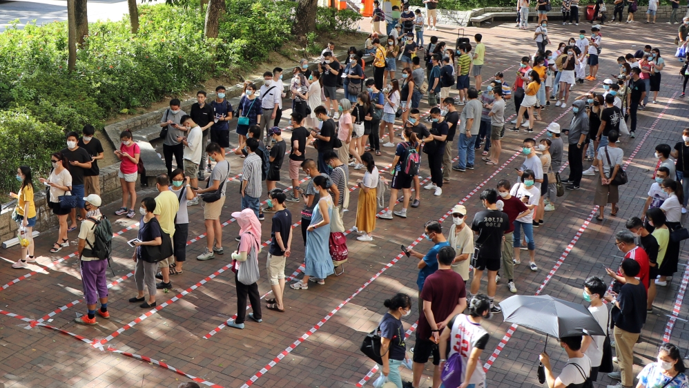 Hong Kong: 500,000 cast 'protest' vote against new security law   News