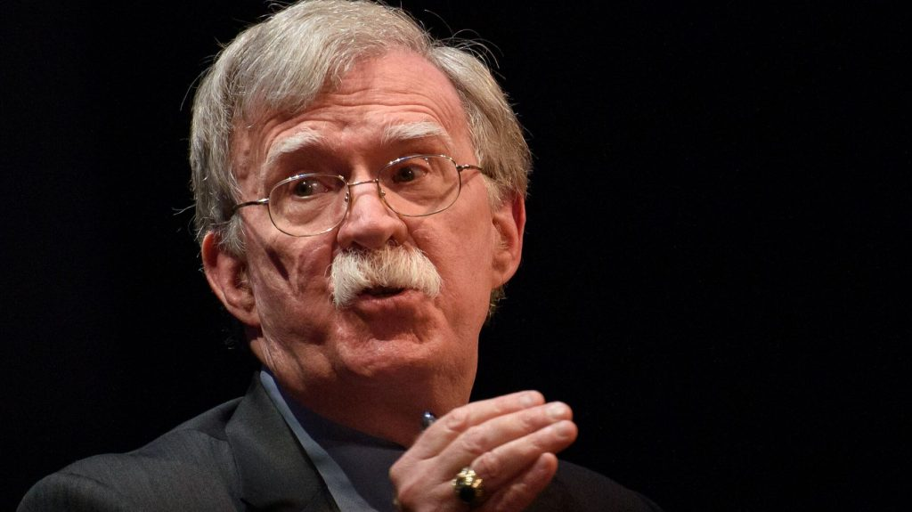 John Bolton Suggests Trump Spends Much Of His Time Glued To TV