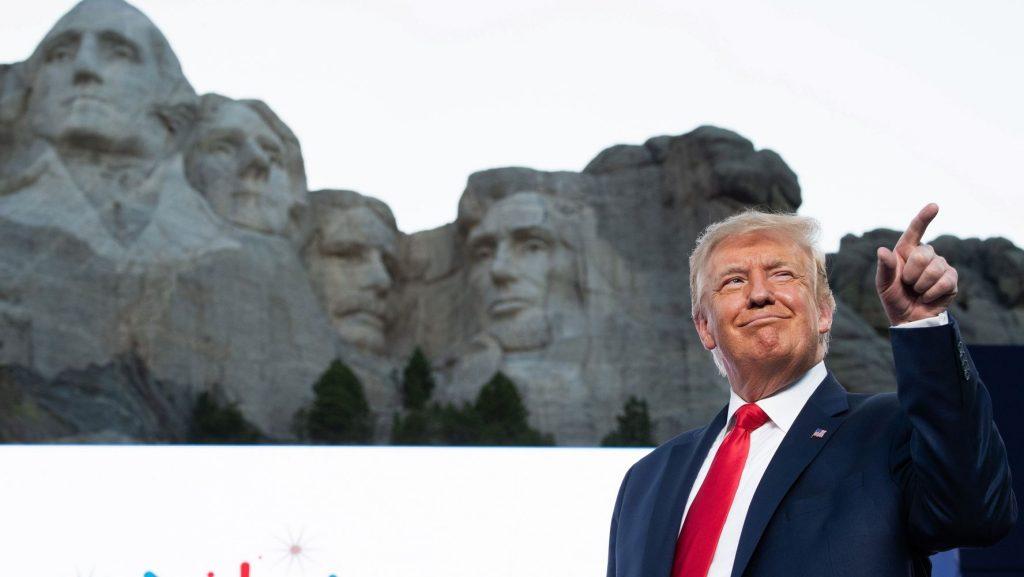 Maskless Trump Rails Against 'Left-Wing Mob' As Coronavirus Crisis Spirals