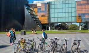 Students at Sydney University