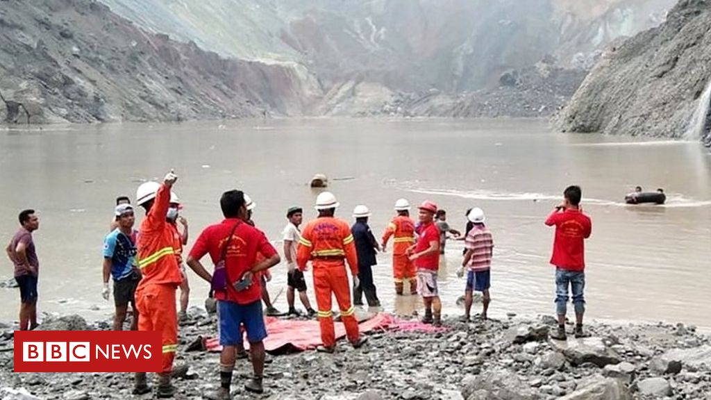 Myanmar jade mine landslide kills more than 100