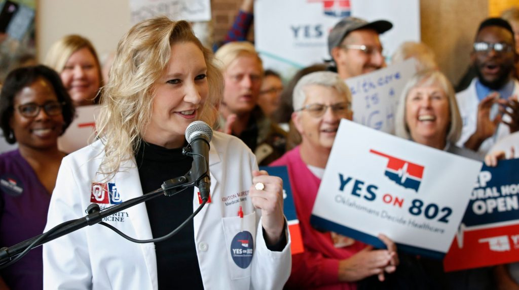 Oklahoma Voters Approve Medicaid Expansion For 200,000