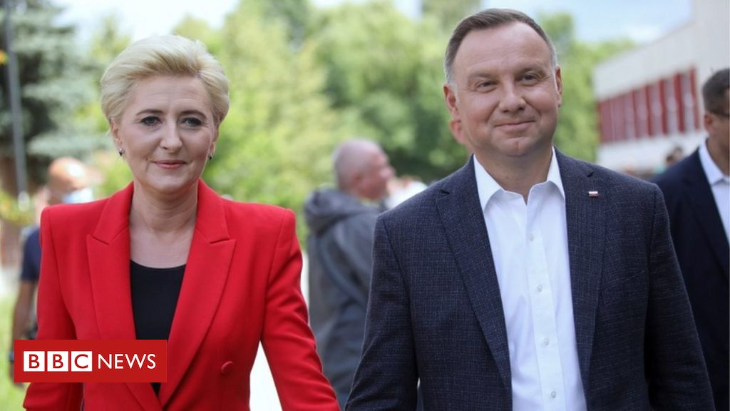 Poland's Duda holds slim lead in presidential election - exit poll