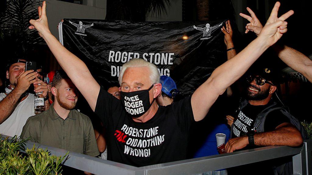 Roger Stone: Robert Mueller defends indictment over Russia probe