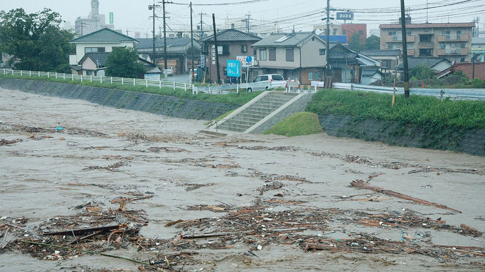 Heavy rains trigger floods and mudslides in southern Japan | Japan News