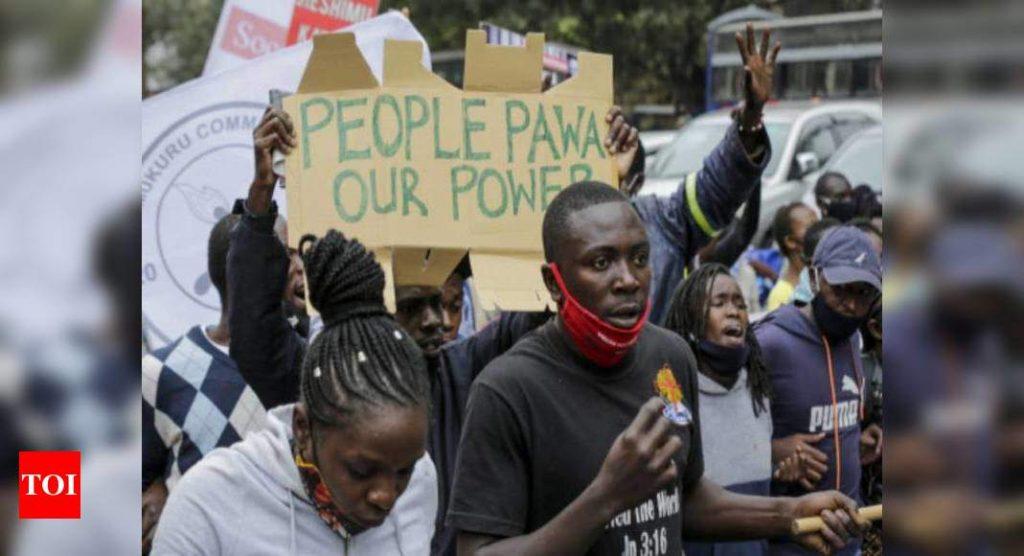 Tear gas, arrests as Kenyans protest police brutality