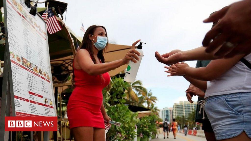 Trump 4 July message: We're beating 'China plague'