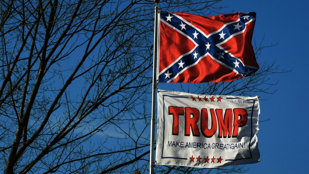 Trump Has No Stance On Confederate Flag, Press Secretary Claims