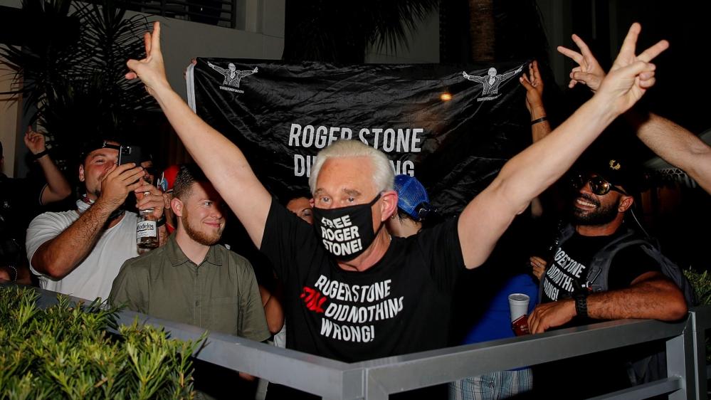 Trump commutes longtime friend Roger Stone's prison sentence | USA News