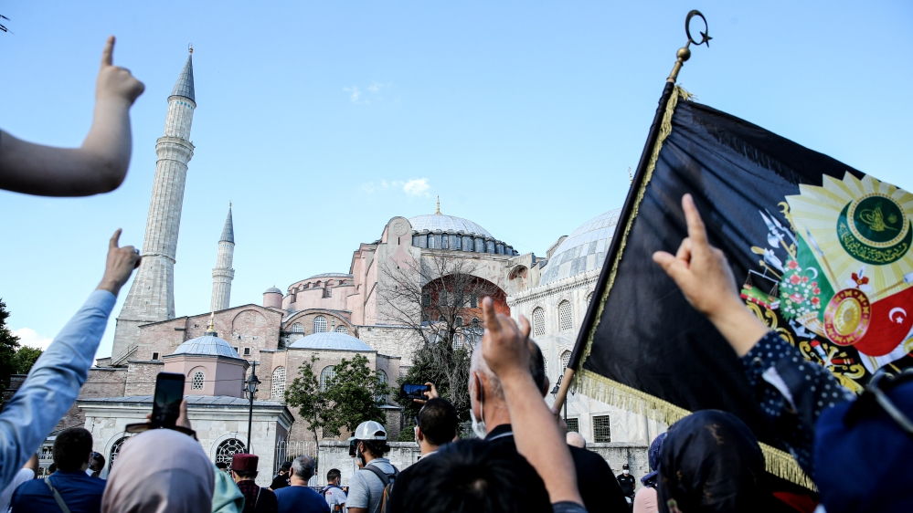 Turkey reconverts Istanbul's Hagia Sophia museum into a mosque | News