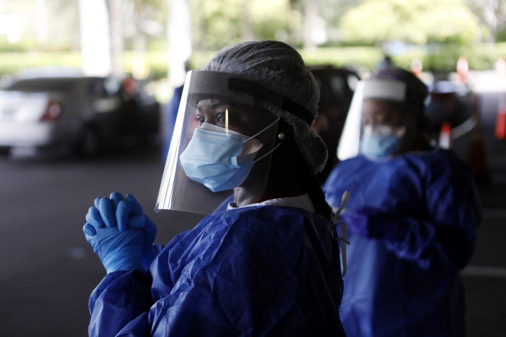 U.S. coronavirus cases continue record surge