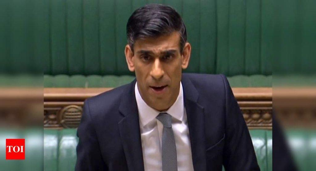 UK's Rishi Sunak pledges 30 billion pounds to stem unemployment crisis