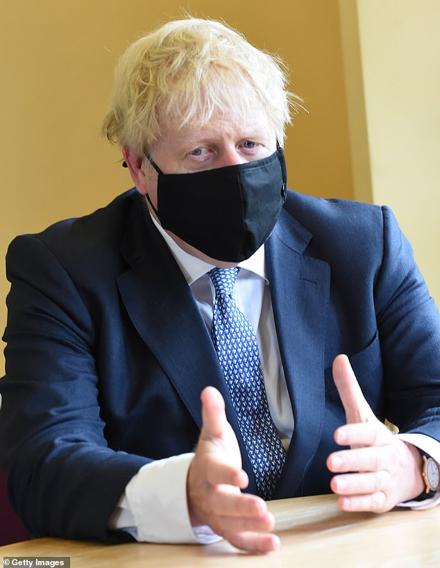 Boris Johnson has told mandarins to tear up the 'work from home' guidance which has been in place since March and start getting officials back to the office from the end of next week