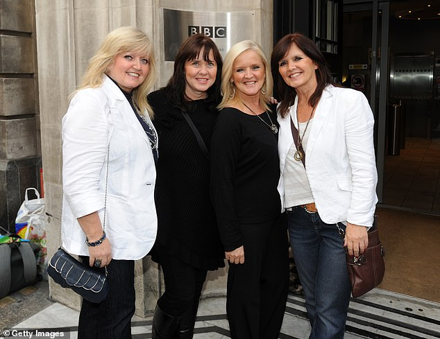 The devastating news comes seven years after Linda and Anne lost their sister Bernie ( second from right) to cancer in 2013