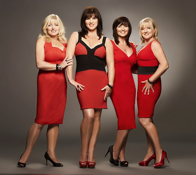 Linda (left), 61, found out she has incurable liver cancer shortly after the pair returned from filming a series of The Nolans Go Cruising with sisters Coleen and Maureen in March