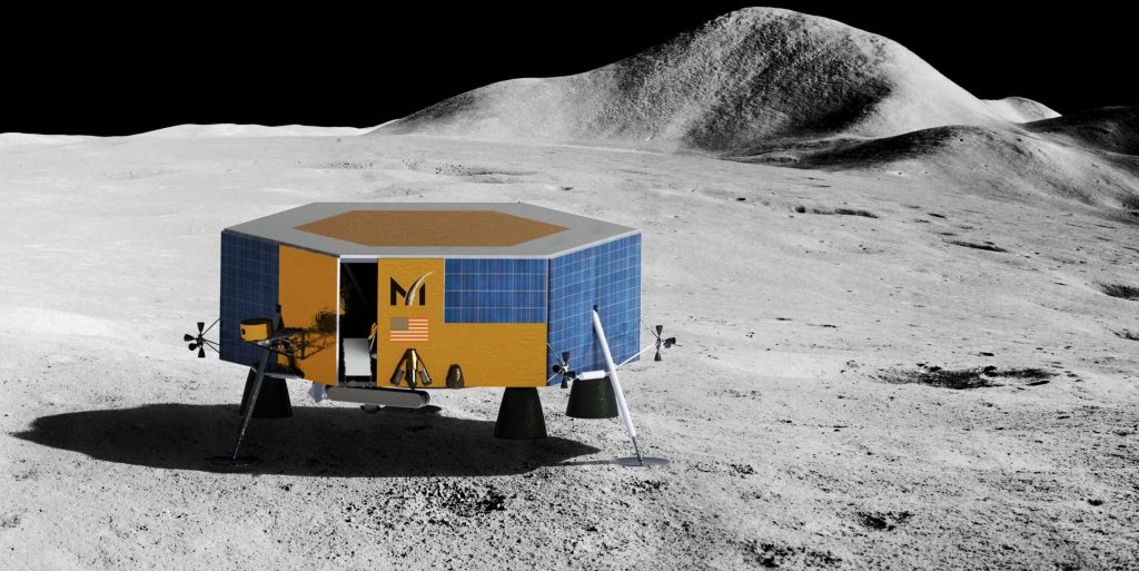 SpaceX Falcon 9 rocket wins fourth Moon lander launch contract