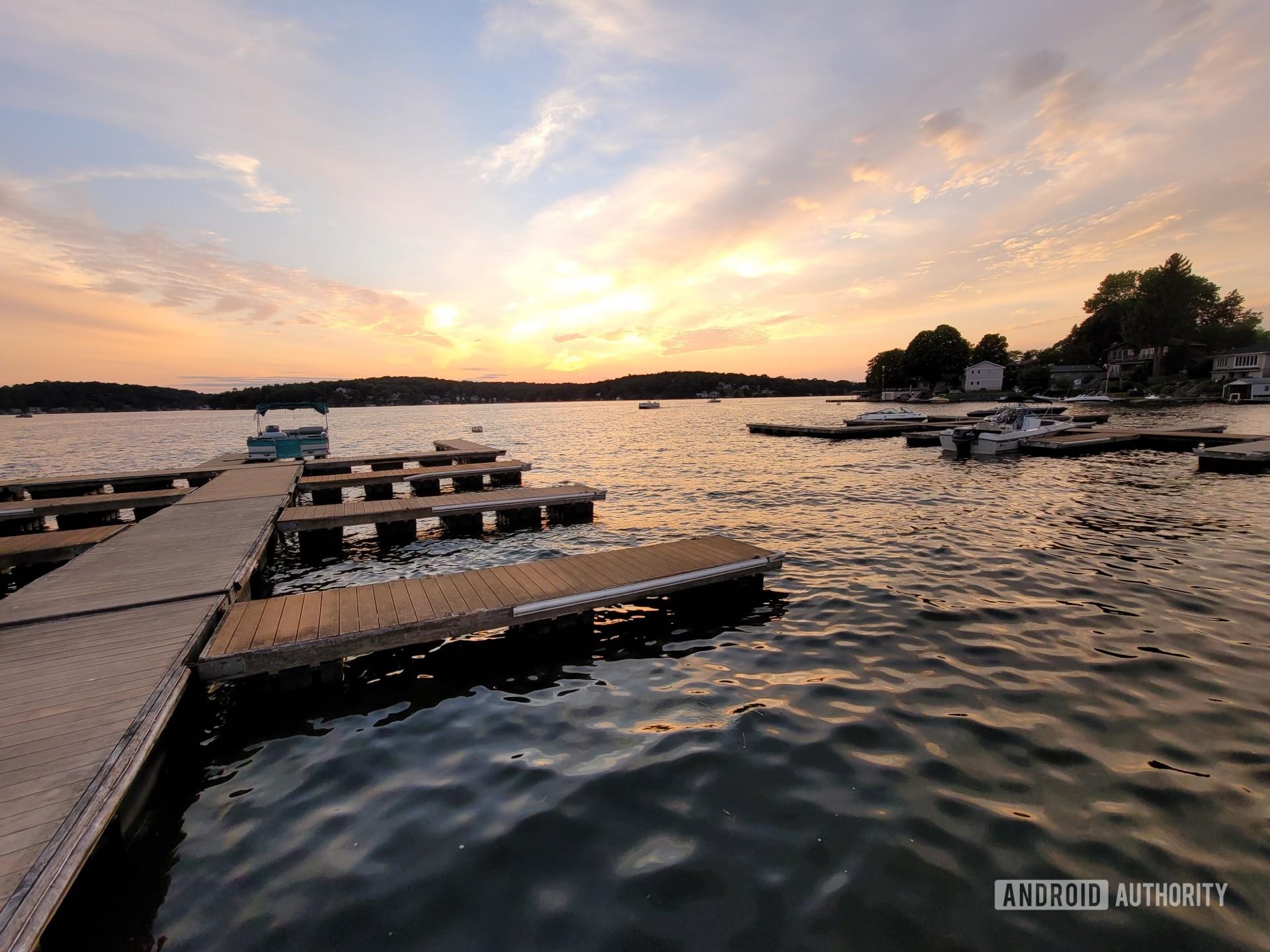 Samsung Galaxy Note 20 Ultra photo sample sunset