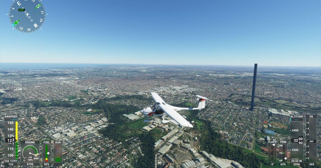 An innocent typo led to a giant 212-story obelisk in Microsoft Flight Simulator