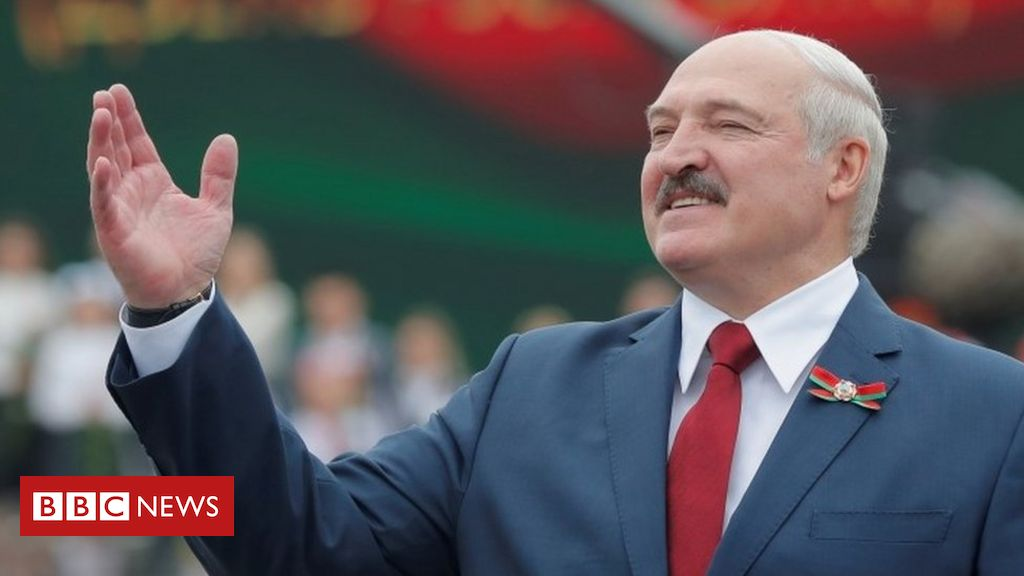 Belarus election: President Lukashenko faces toughest test in years