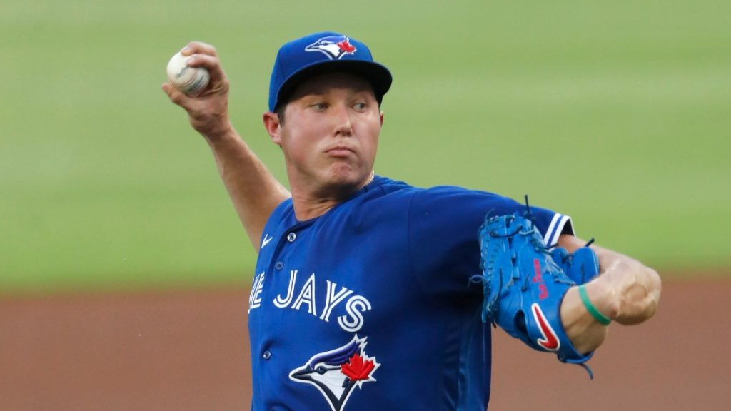Blue Jays' Nate Pearson diagnosed with flexor strain in pitching arm