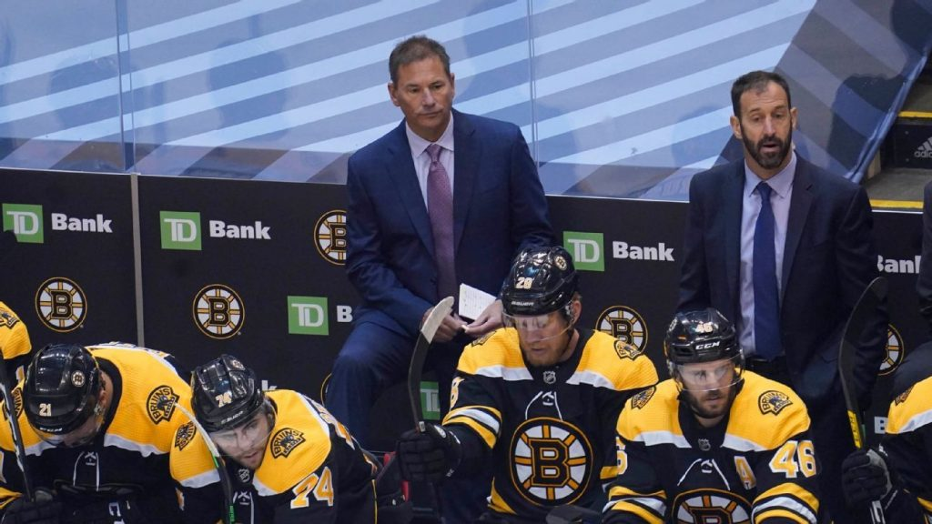 Bruins' Cassidy 'didn't agree' with 5-minute major penalty after loss