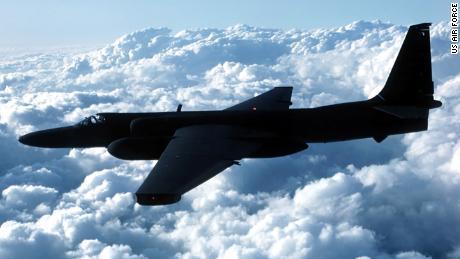 A US Air Force U-2 spyplane.