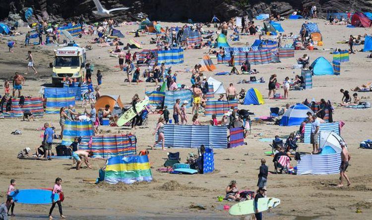 Coronavirus news: Packed beaches leave locals scared to go   UK   News