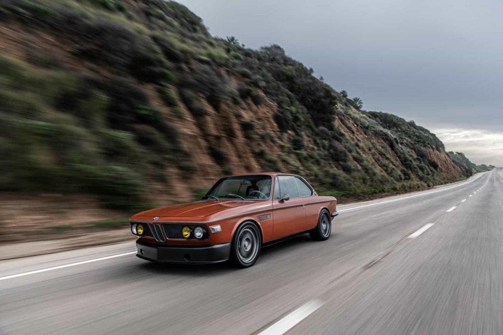 Gaze at Robert Downey Jr.'s modified BMW 3.0CS and judge its wood accents