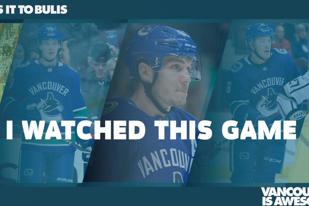 IWTG: Canucks defuse the Blues with thrilling overtime win in Game 2