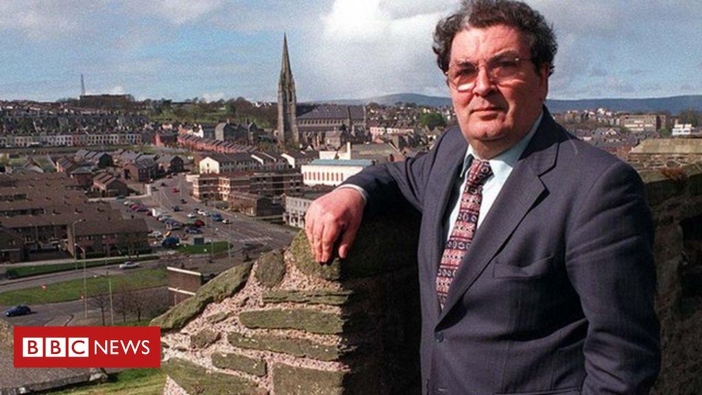 John Hume: Funeral of Nobel laureate under way in Derry