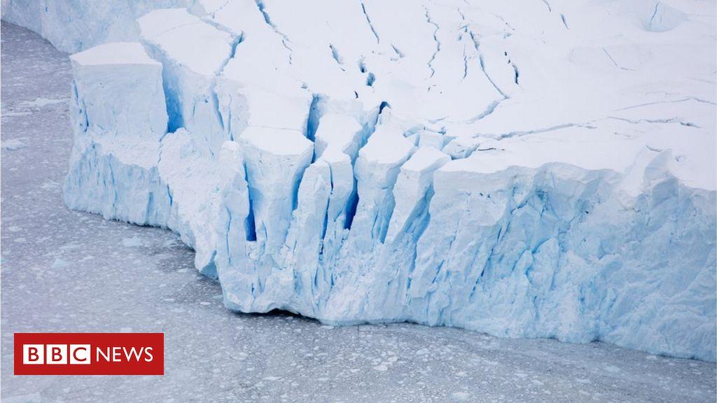 Climate change: Satellites record history of Antarctic melting