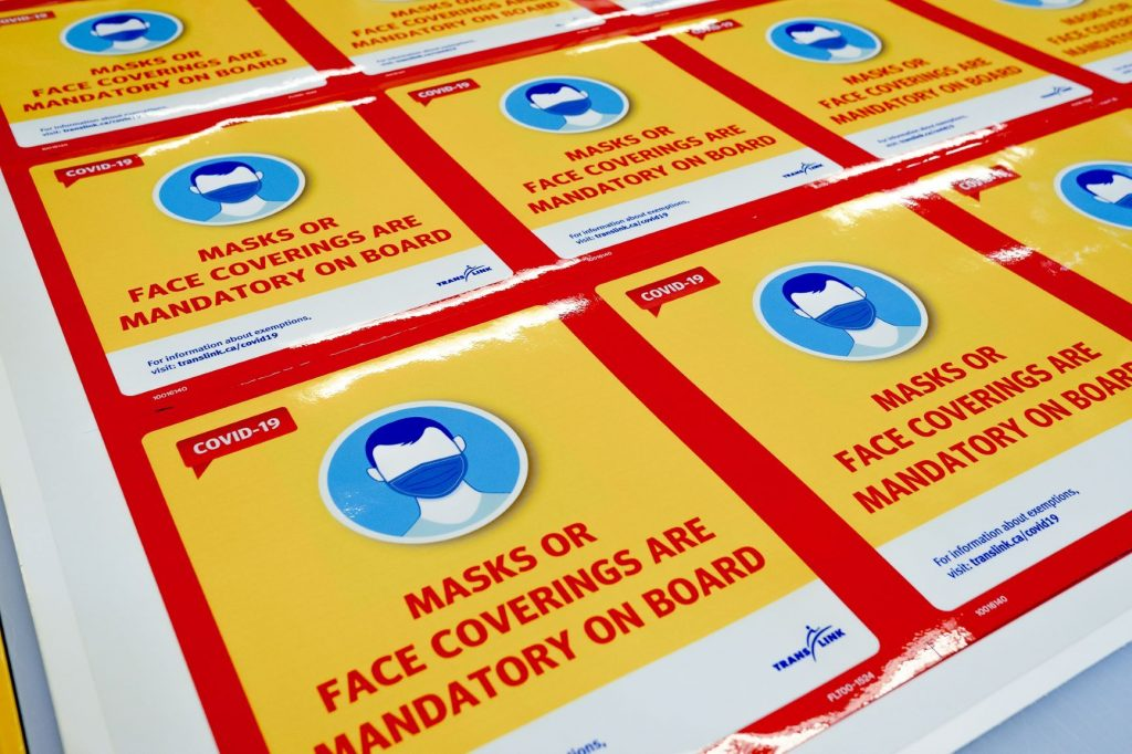 Masks mandatory on TransLink trains, buses, SeaBus Monday