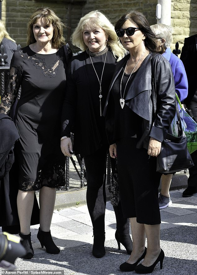 Nolan sisters Linda and Anne (pictured with Maureen Nolan) have revealed they are battling cancer together after being diagnosed with the disease just days apart
