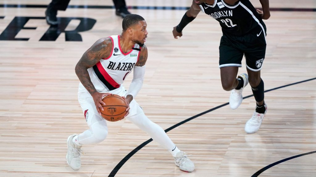 Trail Blazers beat Nets to clinch spot in West play-in series